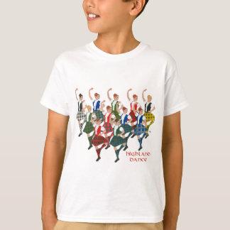 Camiseta Grupo escocês da dança das montanhas