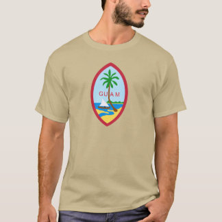 Camiseta GUAM - emblema/bandeira/brasão/símbolo