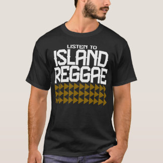 Camiseta GUAM FUNCIONA 671 escuta a reggae II da ilha
