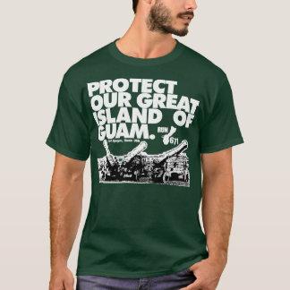 Camiseta GUAM FUNCIONA 671 protege nossa ilha
