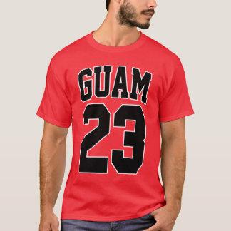 Camiseta GUAM FUNCIONA a estrela mundial 23 do basquetebol