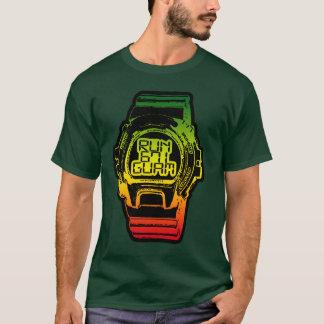 Camiseta GUAM FUNCIONA o relógio de choque de Reggea do