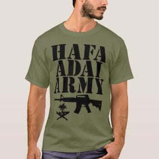 Camiseta GUAM FUNCIONA o selo do exército de 671 Hafa Adai
