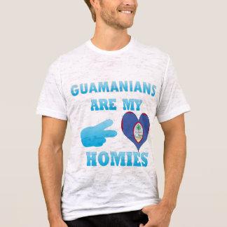 Camiseta Guameses são meu Homies
