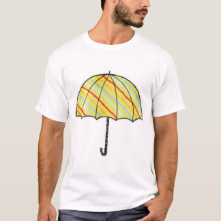 Camiseta Guarda-chuva Stripy de Homeberries