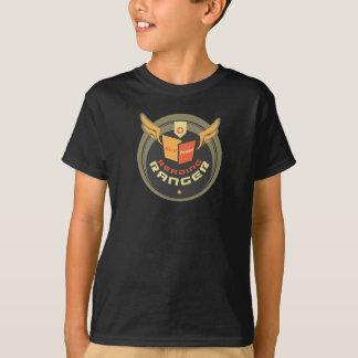 Camiseta Guarda florestal da leitura - preto