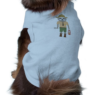 Camiseta Guarda florestal da preguiça com lâmpada Z2sdz