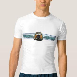 Camiseta Guarda havaiana do prurido da ilustração do surf