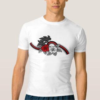 Camiseta Guarda havaiana surfando do prurido da banda do