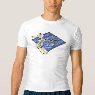 Camiseta Guarda havaiana surfando do prurido do diamante do