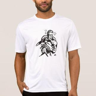 Camiseta Guarda retro do prurido do bloqueador de Darce por