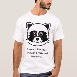 Camiseta Guaxinim: Eu não sou o ladrão