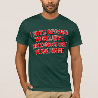Camiseta Guaxinins de Moccing