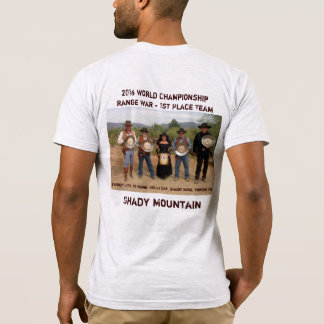 Camiseta Guerra da escala do campeonato do mundo