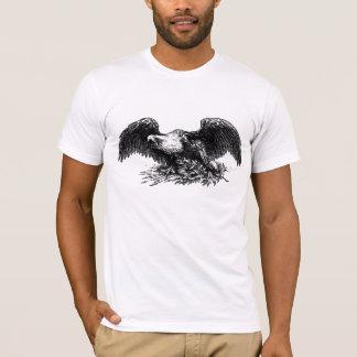 Camiseta Guerra Eagle do vintage