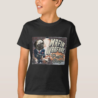 Camiseta Guerra Pugsy Beigel da máfia por estúdios de Mudge