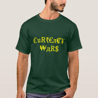 Camiseta Guerras da moeda