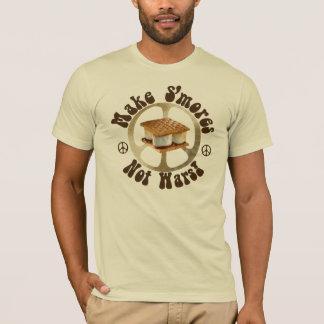 Camiseta Guerras de Smores da paz não