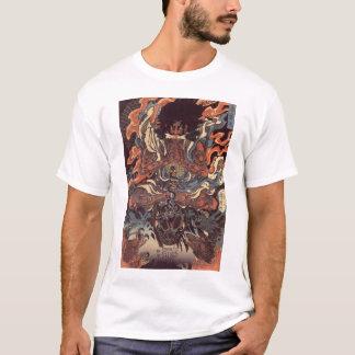 Camiseta Guerreiro contra o cobra do demónio