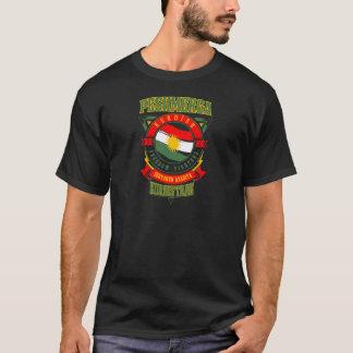 Camiseta guerreiro da liberdade de Peshmerga do CURDISTÃO