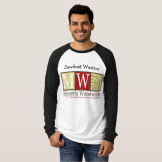 Camiseta Guerreiro da serragem
