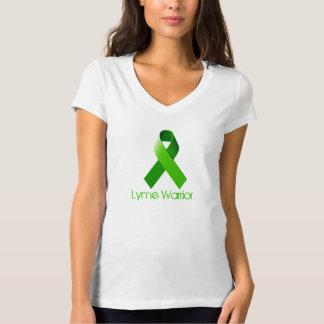 Camiseta Guerreiro de Lyme V - Tshirt do pescoço