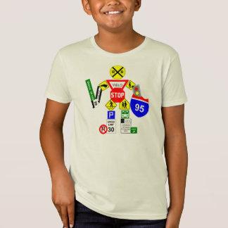 Camiseta Guerreiro do sinal de rua