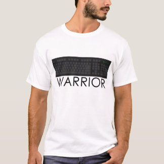 Camiseta Guerreiro do teclado - T do guerreiro do conselho