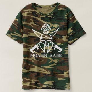 Camiseta Guerreiro espartano Molon Labe de Camo