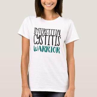 Camiseta Guerreiro intersticial da cistite