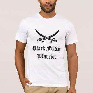 Camiseta Guerreiro preto de sexta-feira