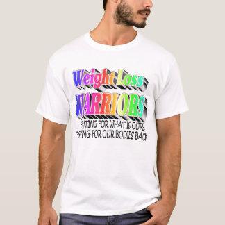 Camiseta Guerreiros da perda de peso