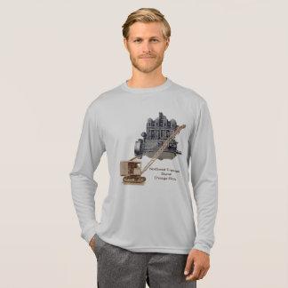 Camiseta Guindaste noroeste do vintage e equipamento pesado