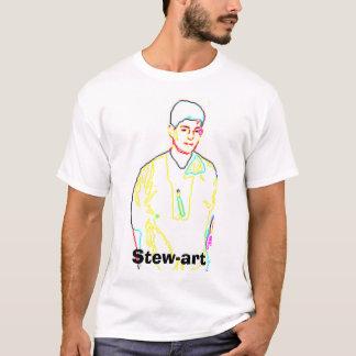 Camiseta guisado, Stewart