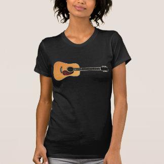 Camiseta Guitarra acústica horizontal