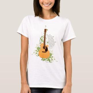 Camiseta Guitarra com videiras