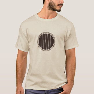 Camiseta Guitarra (design minimalista)
