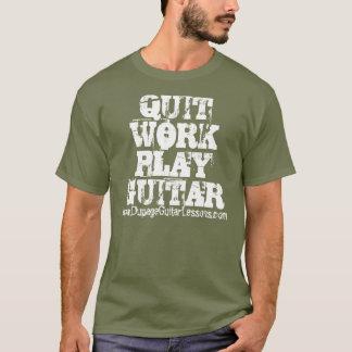 Camiseta GUITARRA PARADA www.DupageGuitarLessons.com do