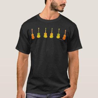 Camiseta Guitarra queimadas