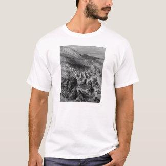 Camiseta Gustave Dore: Cruzados cercados pelo exército de