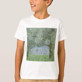 Camiseta Gustavo Klimt - Bauerhaus na pintura de Buchberg