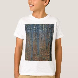 Camiseta Gustavo Klimt - bosque da faia. Animais selvagens