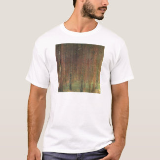 Camiseta Gustavo Klimt - floresta do pinho