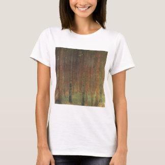 Camiseta Gustavo Klimt - floresta do pinho