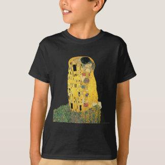 Camiseta Gustavo Klimt - o beijo