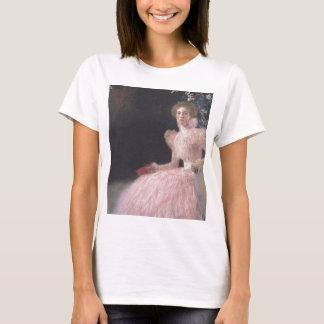 Camiseta Gustavo Klimt - retrato de Bildnis Sonja Knips