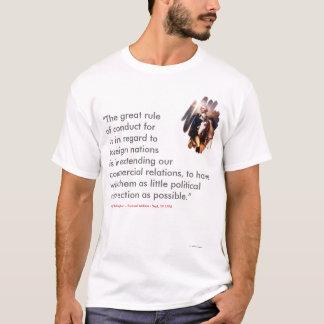 """Camiseta GW """"a grande conduta de Ruleof"""