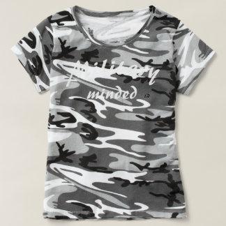 Camiseta (Gym Ops) Tshirt customizável ocupado militar de