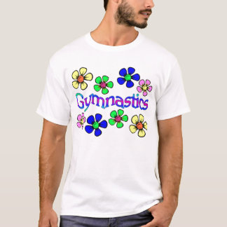 Camiseta Gymnast de flower power