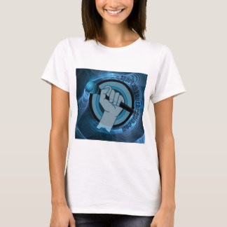 Camiseta Gyre azul eterno